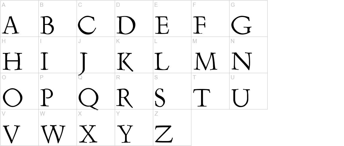 Renaiss-Italic uppercase