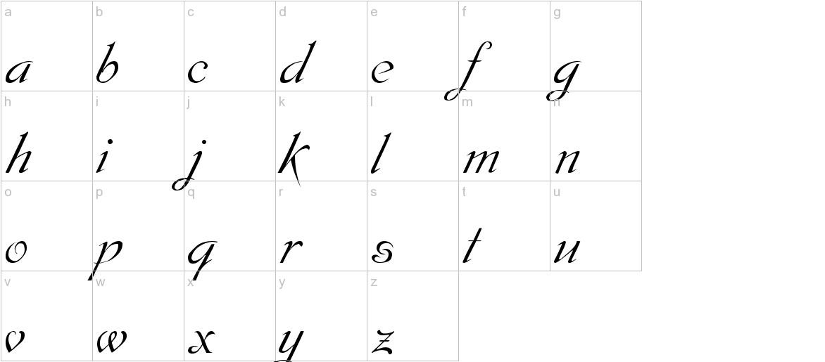 Dobkin Plain lowercase