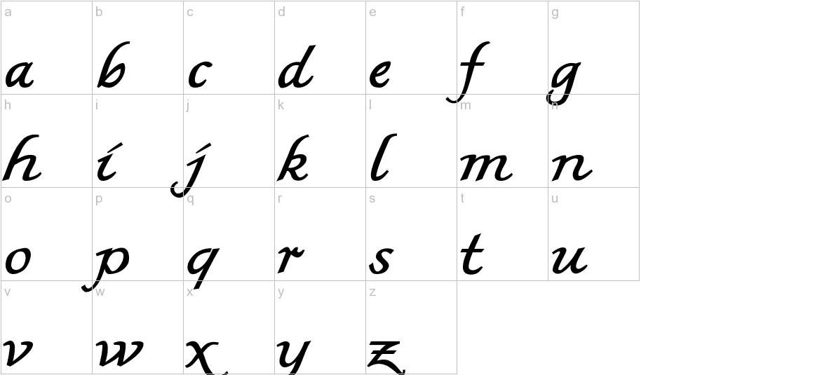 MKBritishWriting lowercase