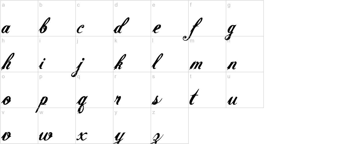 RADAGUND lowercase