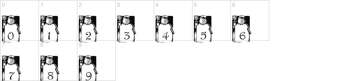 pf_snowman1 characters