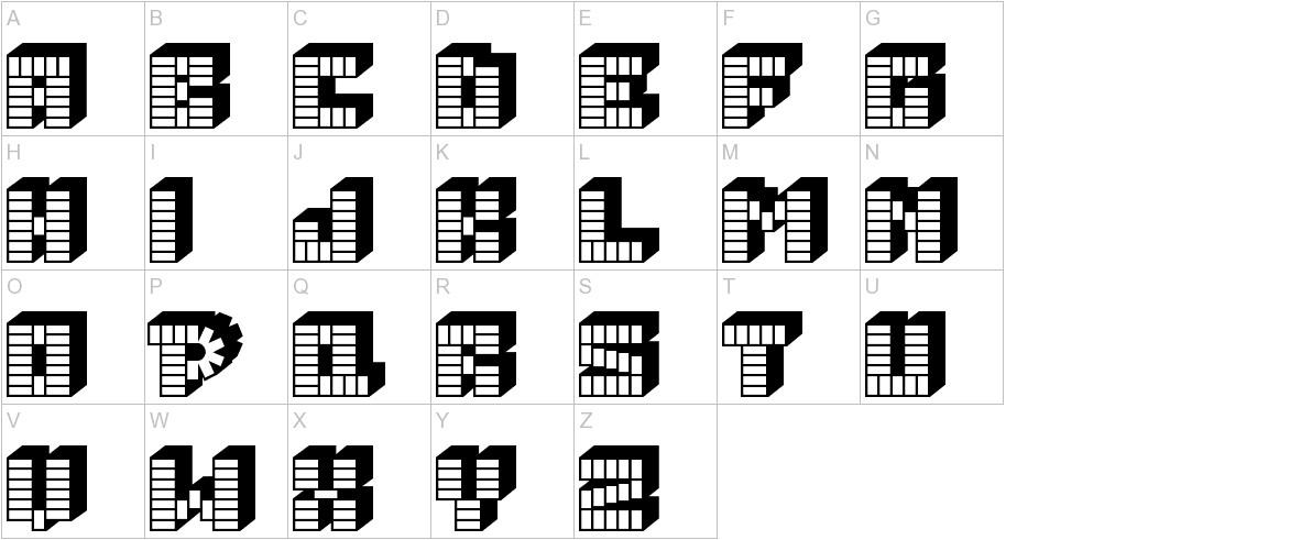 PEZ_font uppercase