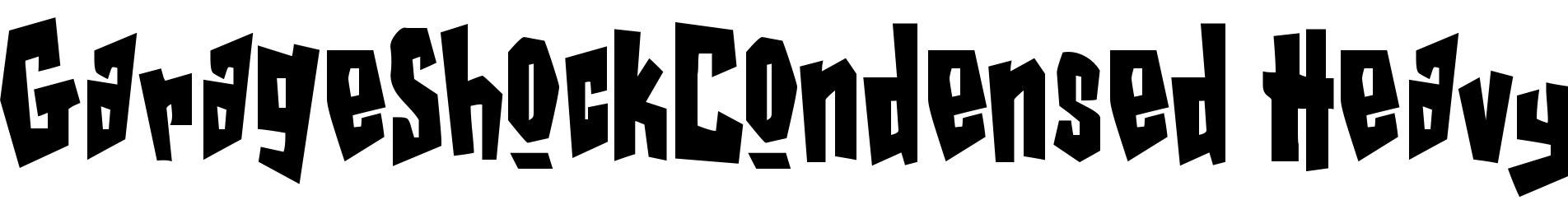 GarageShockCondensed Heavy