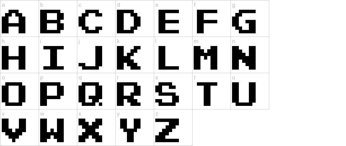 Emulator Normal lowercase