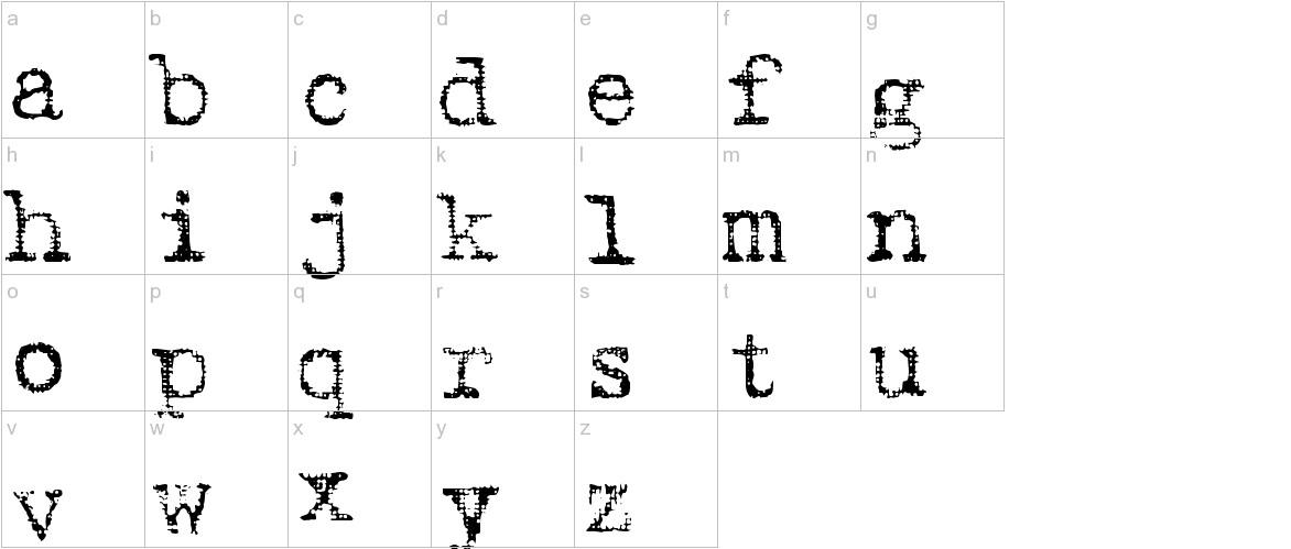 Harting Plain lowercase