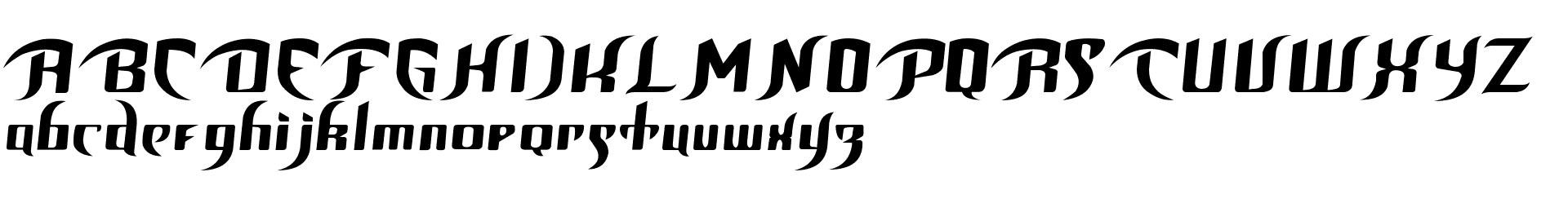 Unofficial BoP Font