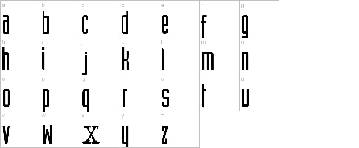 XFiles lowercase