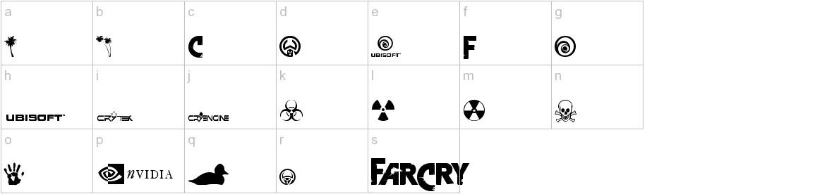 Farcry Extrabold Font Urbanfonts Com