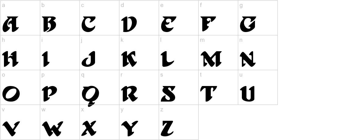 Hoffmann lowercase
