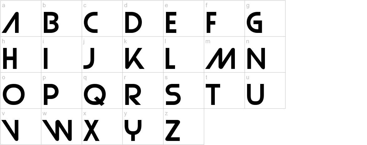 Strasua lowercase