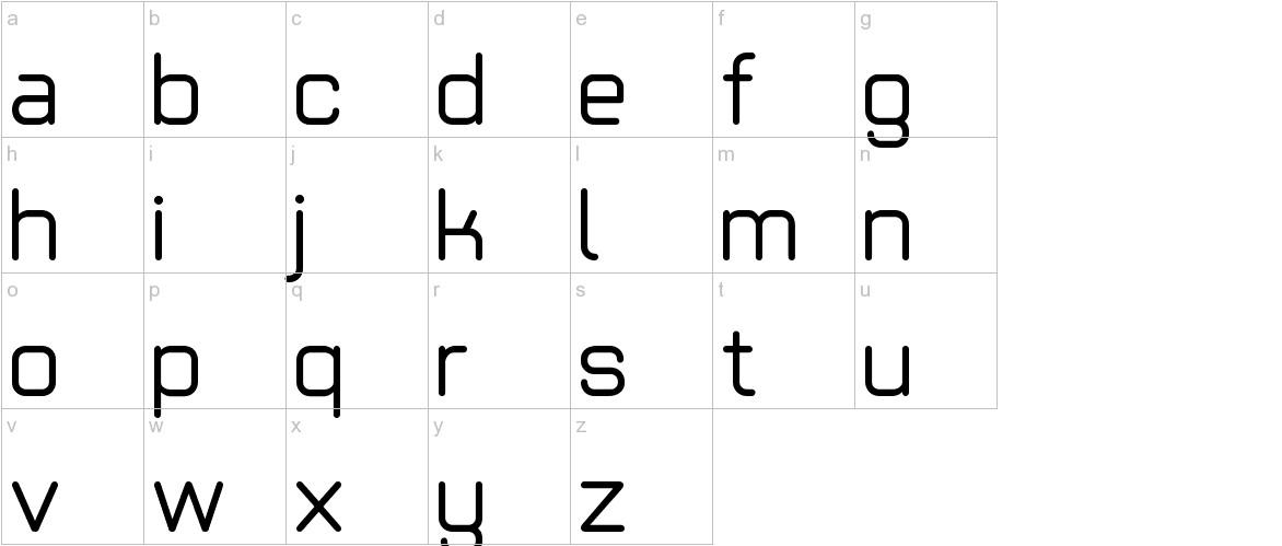 Basic Light ltd lowercase