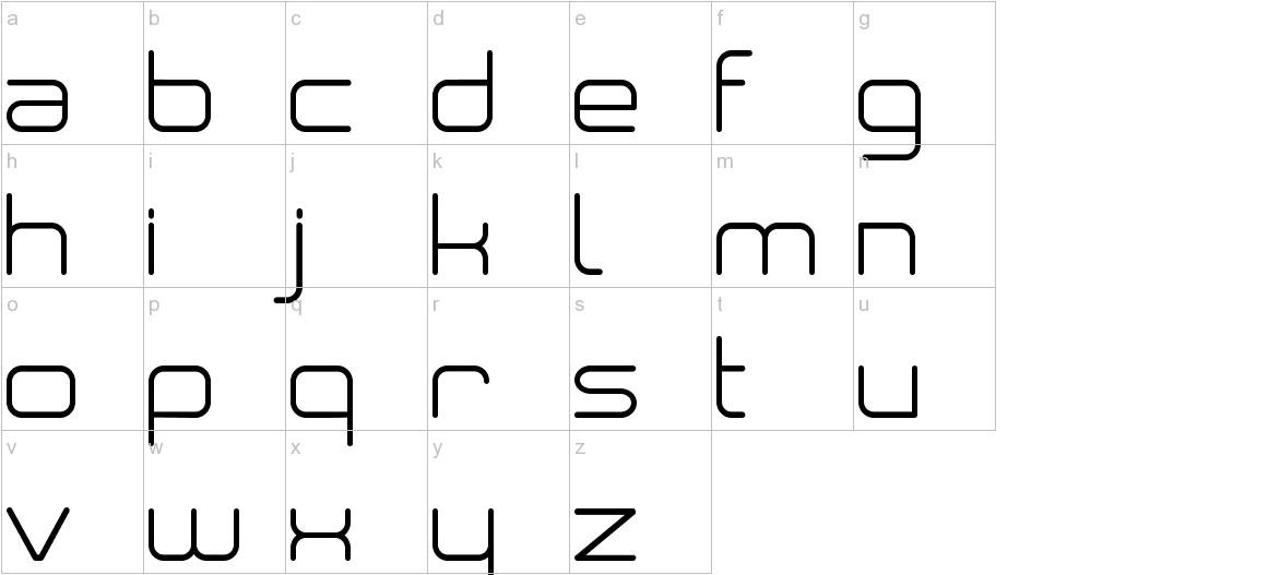 Neogre lowercase