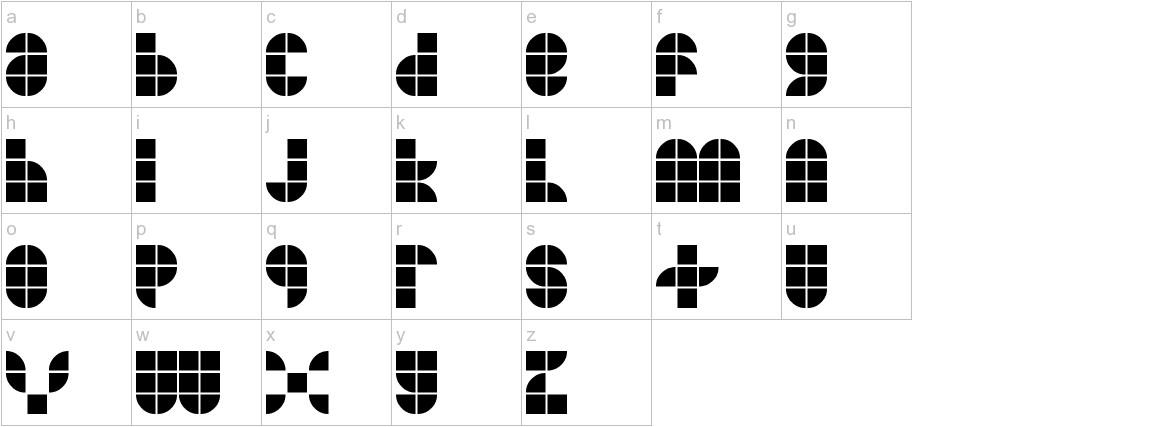 MKF Tiler lowercase