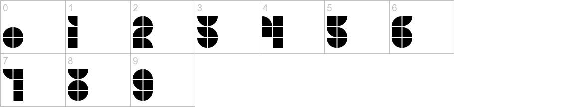 MKF Tiler characters