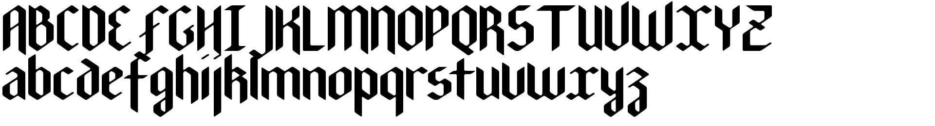New Gothic Textura