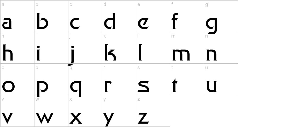Final Frontier lowercase