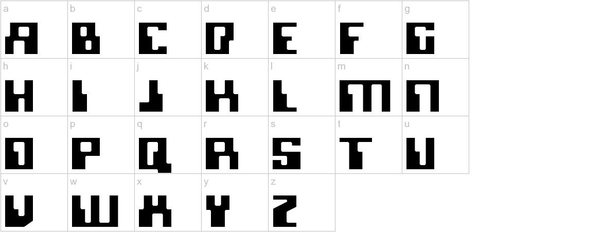 Micronian lowercase