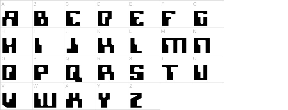 Micronian uppercase
