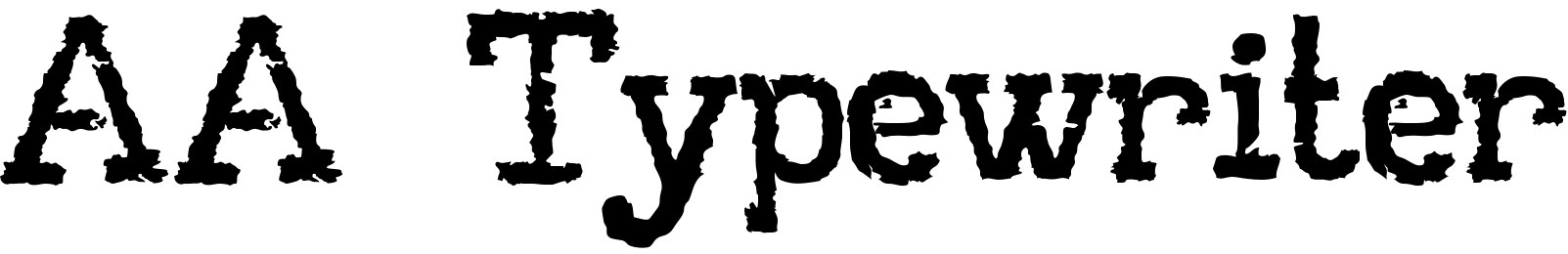AA Typewriter