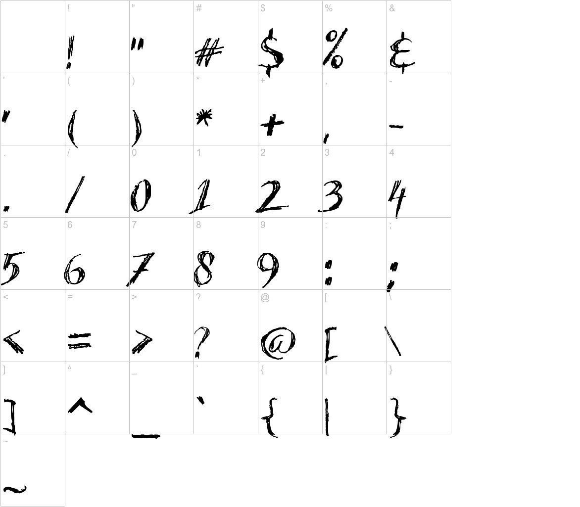 Acacia 23 characters