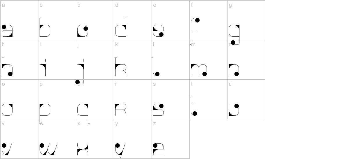 Agnes serif lowercase
