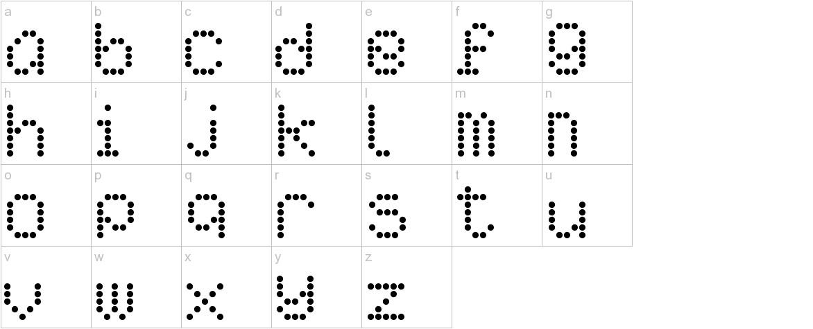 AI pointe lowercase