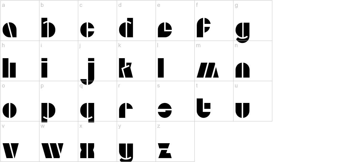 Aldo Open lowercase