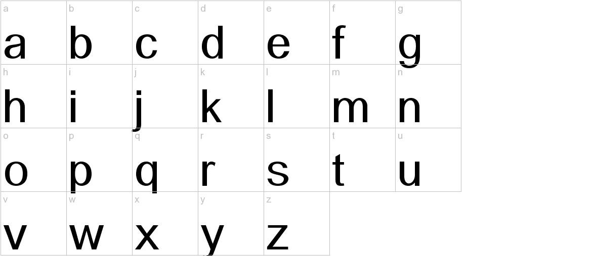 Alido lowercase