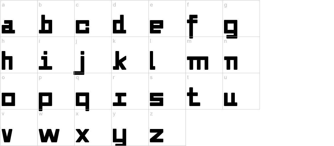 Alvedon lowercase