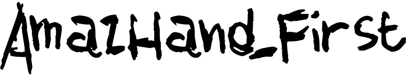 AmazHand_First