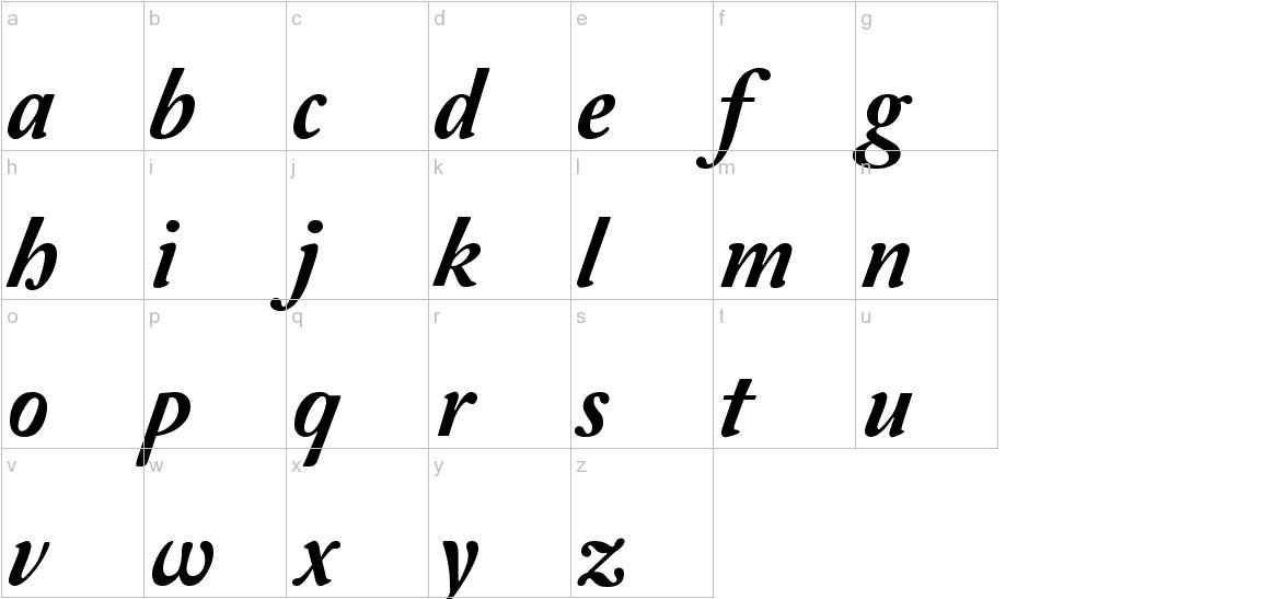 Amperzand lowercase