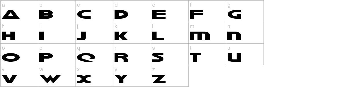 Galant lowercase