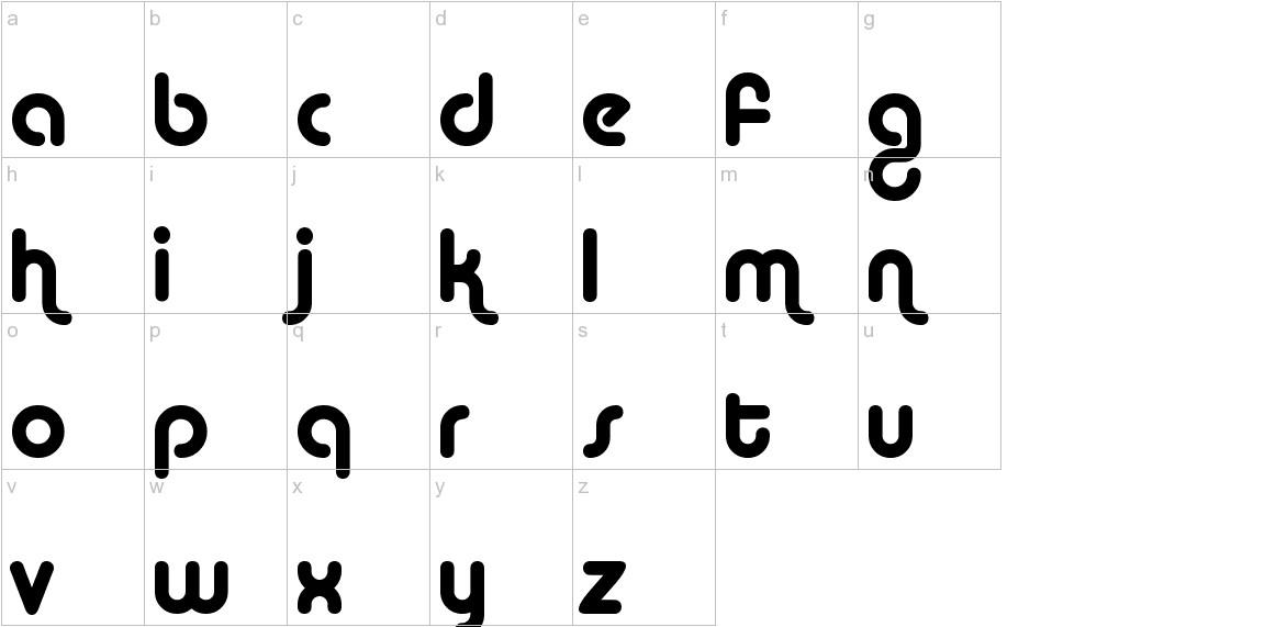 Alba lowercase