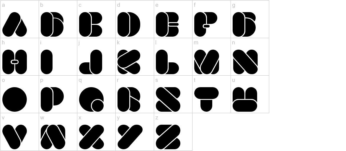 BEAUTIFUL lowercase