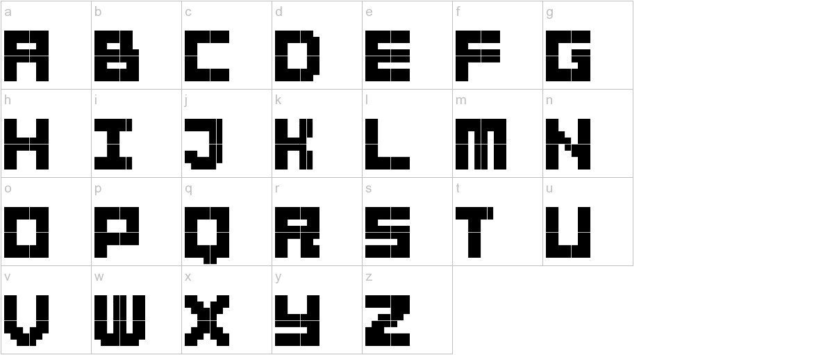 BitBold lowercase