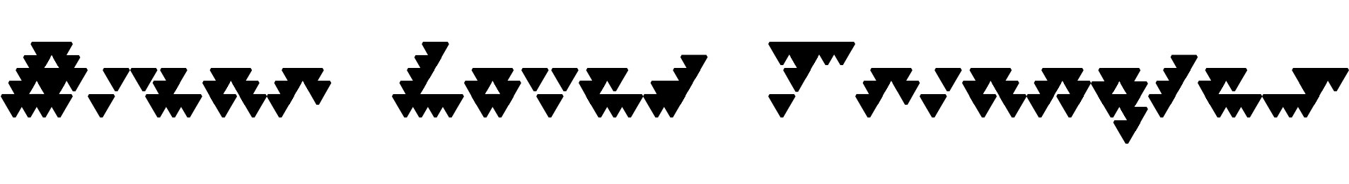 Bizar Loved Triangles
