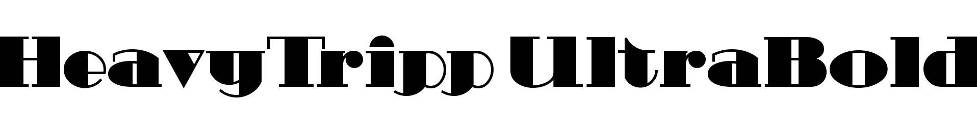 HeavyTripp UltraBold