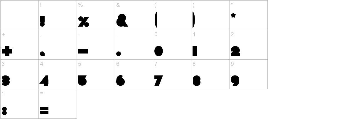 Chaos Math characters