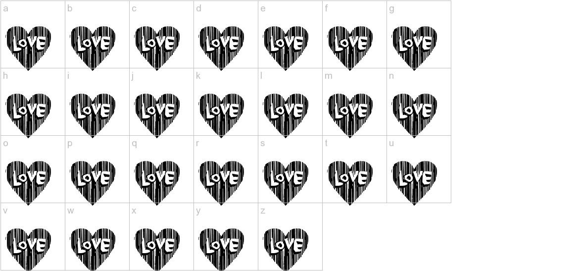 Cordel Valentine lowercase