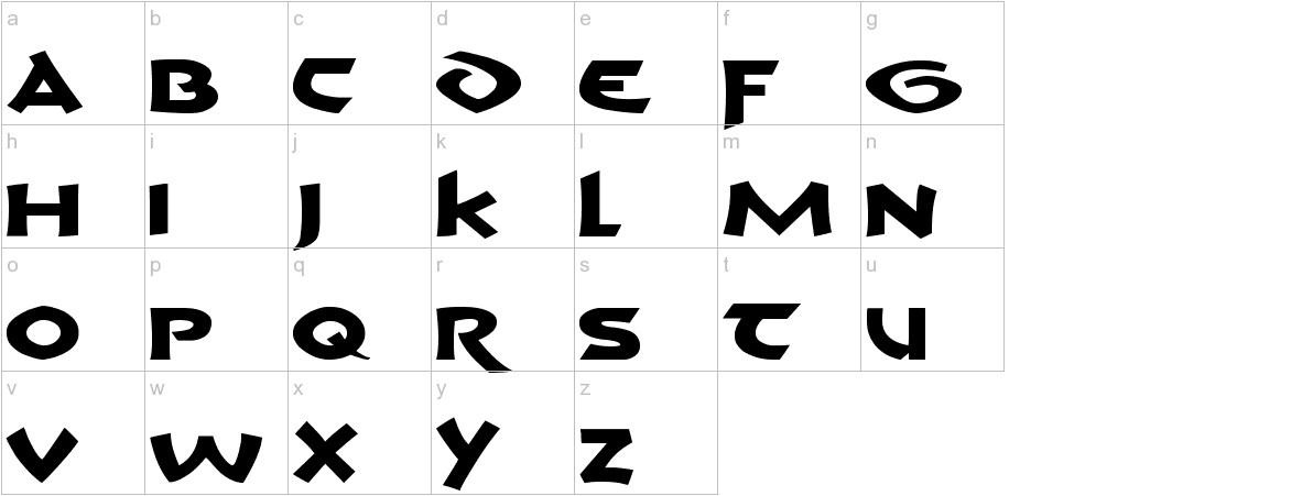 Crom lowercase