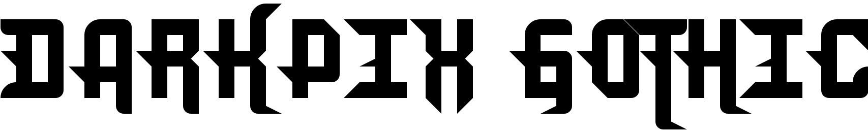 DarkPix Gothic