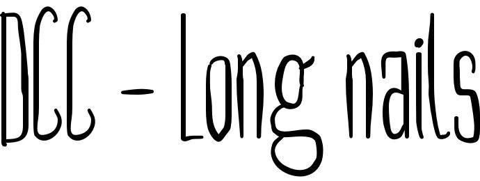 DCC - Long nails