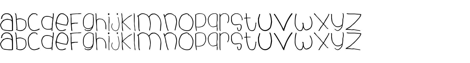 dhe child font