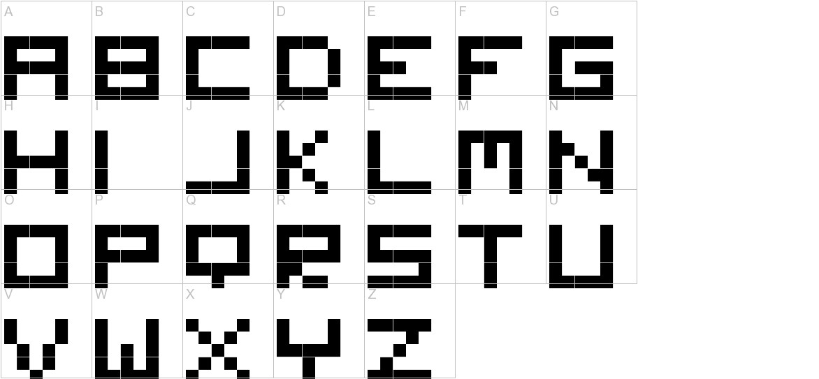 Digitalix uppercase