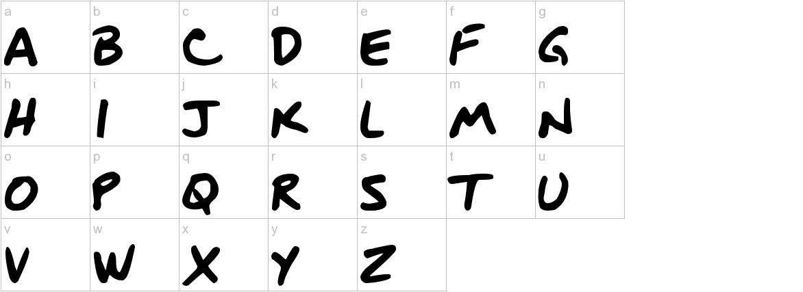 DJB BLUEPRINT lowercase