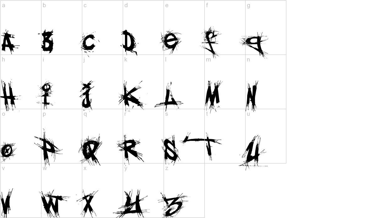 El&font gothic! Font download.