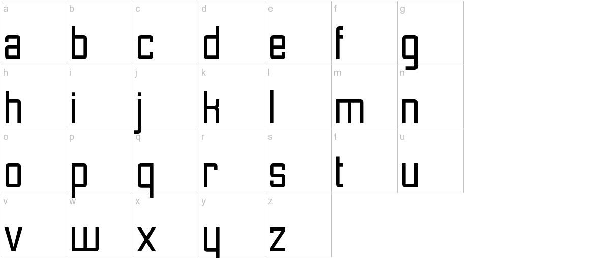 Etobicoke lowercase