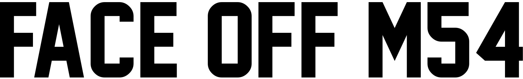 Face Off M54