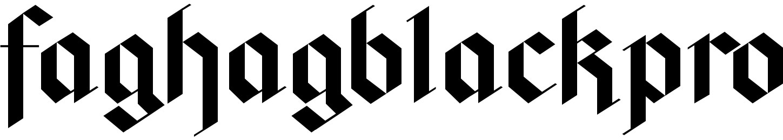faghagblackpro