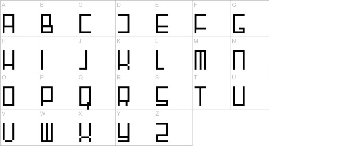 Fair N Square uppercase